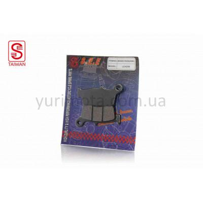 Колодки дисковые SUZUKI ADDRESS 100/LET'S (TW)