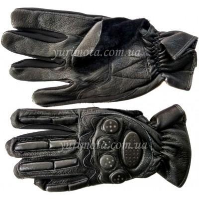 купить Мотоперчатки кожаные с защитой