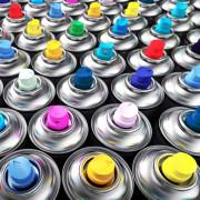 Аэрозольная краска в баллончиках
