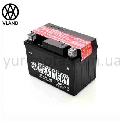 Аккумулятор 4А UTX4L-BS кислотный VLAND