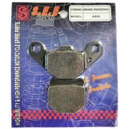 Колодки дисковые SUZUKI ADDRESS 50 (SEE)