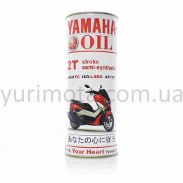 Масло Yamaha 2T полусинтетика