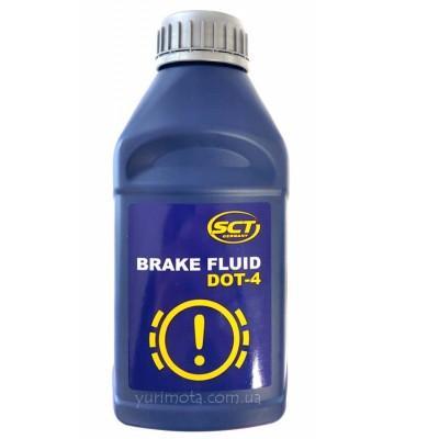 Тормозная жидкость DOT 4 0.455 л SCT