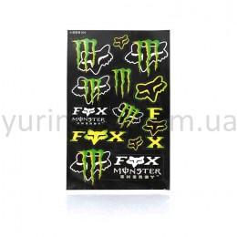 Набор наклеек Fox-Monster