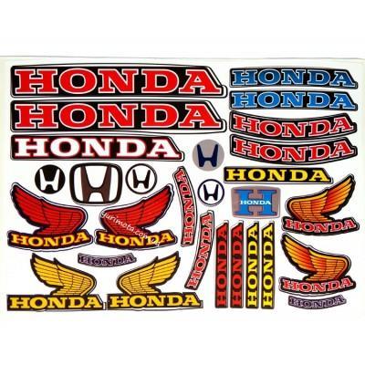 Набор наклеек Honda общий