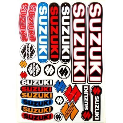 Набор наклеек Suzuki общий