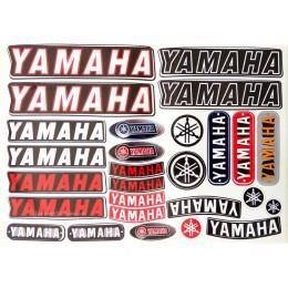 Набор наклеек Yamaha общий