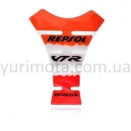 Наклейка на бак мотоцикла Repsol
