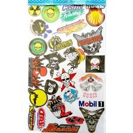 Стикеры (Stickerbombing)
