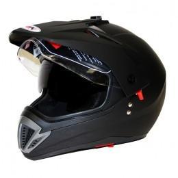 Шлем кроссовый ATAKI  FF103 Solid + очки + визор