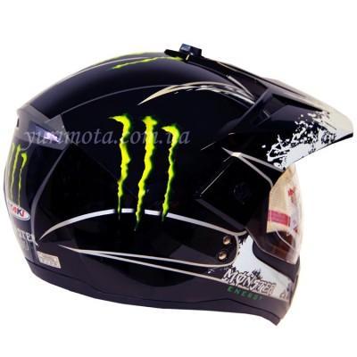 купить Шлем кроссовый ATAKI FF103 Monster