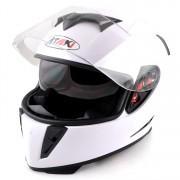 Шлем ATAKI FF311 Solid (Белый/черный)