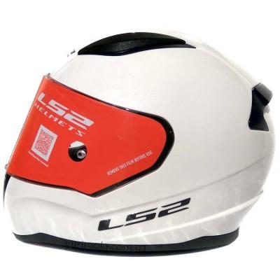 Шлем LS2 FF353 RAPID SINGLE MONO GLOSS WHITE