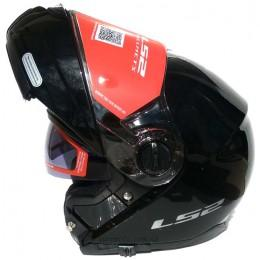 Шлем LS2 FF325 STROBE GLOSS BLACK (Модуляр)