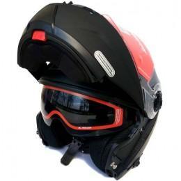 Шлем LS2 FF325 STROBE MATT BLACK (Модуляр)