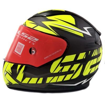 Шлем LS2 FF353 Rapid Cromo Matt Black Hi Vis Yellow