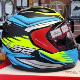 Шлем LS2 FF353 Rapid Gale Matt Black Blue Yellow