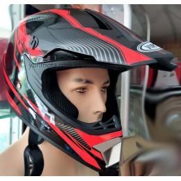 Шлем кроссовый Virtue (красный)