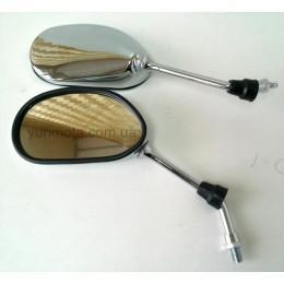 Зеркала хромированные капля