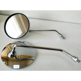Зеркала дешевые круглые хром