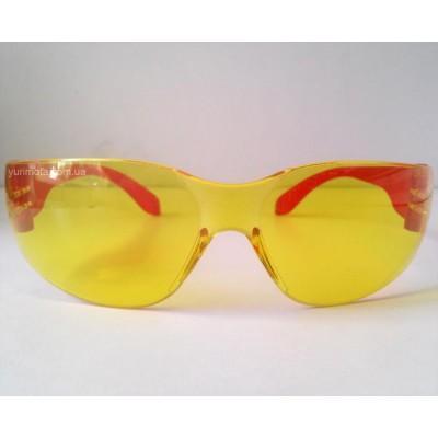 Очки защитные желтые ROCOM3