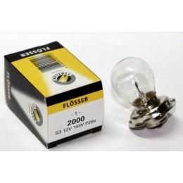 Лампа фары FLOSSER 2000 12V 15/15W