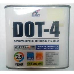Тормозная жидкость DOT 4 0.5л