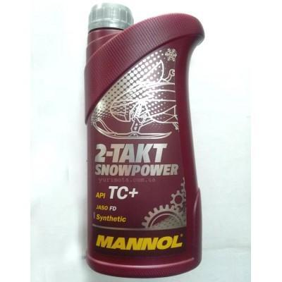 Масло Mannol 2T синтетика 1л