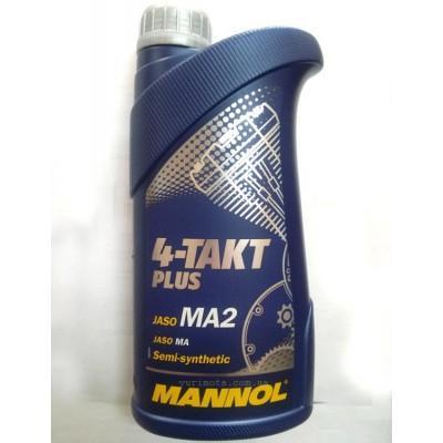 Масло Mannol 4T полусинтетика 1л