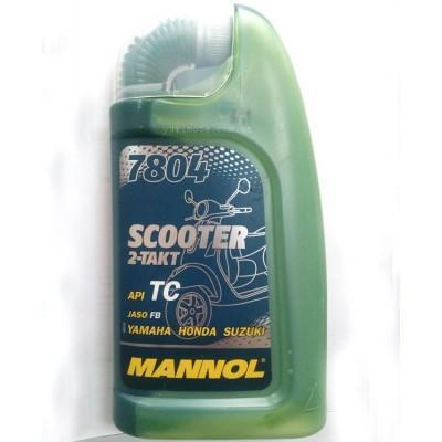 Масло Mannol 2T полусинтетика 1л