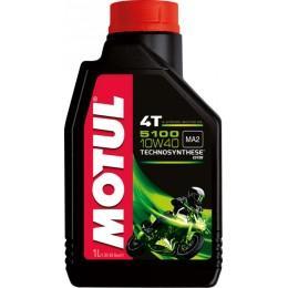 Масло MOTUL 4T 5100 10W40 полусинтетика 1л