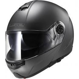 Шлем (модуляр) LS2 FF325 MATT TITANIUM
