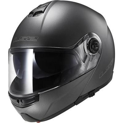 купить Шлем (модуляр) LS2 FF325 MATT TITANIUM