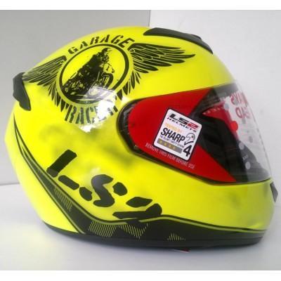 Шлем LS2 FF352 ROOKIE FLUO HI-VIS YELLOW